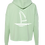 Thumbnail: Mint Cropped Sailboat Hoodie