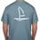 Thumbnail: Sailboat Vintage T-Shirt - Washed Blue