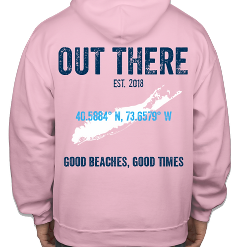 Out There Heavy Sweatshirt - Pink