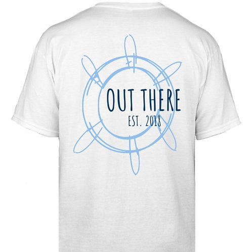 Ships Wheel Vintage T-Shirt