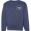 Thumbnail: Heather Navy Lighthouse Crewneck