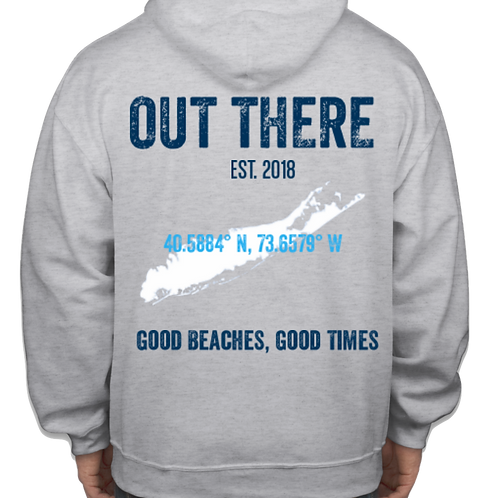 Out There Heavy Sweatshirt - Grey