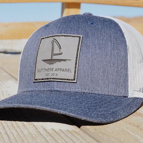 Navy Heather Trucker Hat