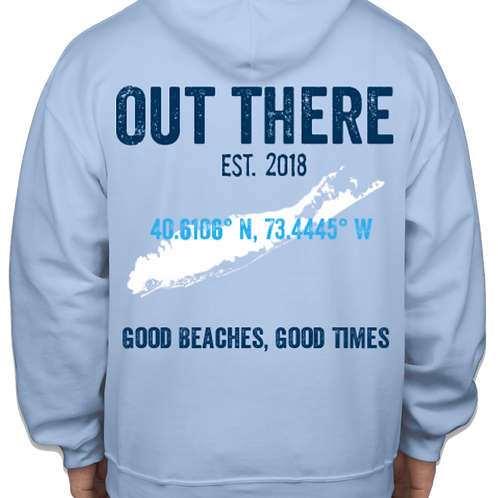 Out There Heavy Sweatshirt - Blue