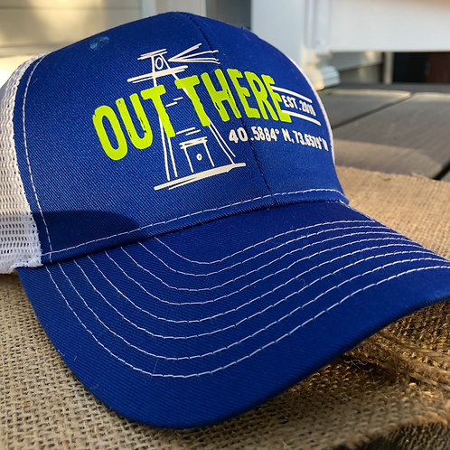 """Out There"" Trucker Hat - Lighthouse Green"