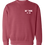 Thumbnail: Washed Crimson Crewneck Sweatshirt