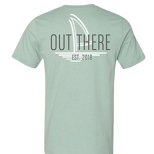Dusty Mint Out There Est. 2018 Tee