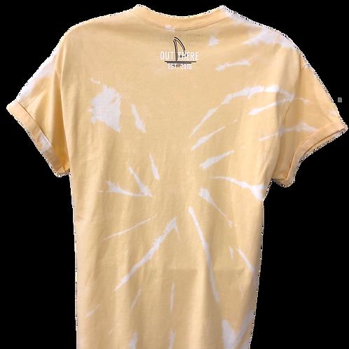 Sunset Gold Tie Dye T-Shirt