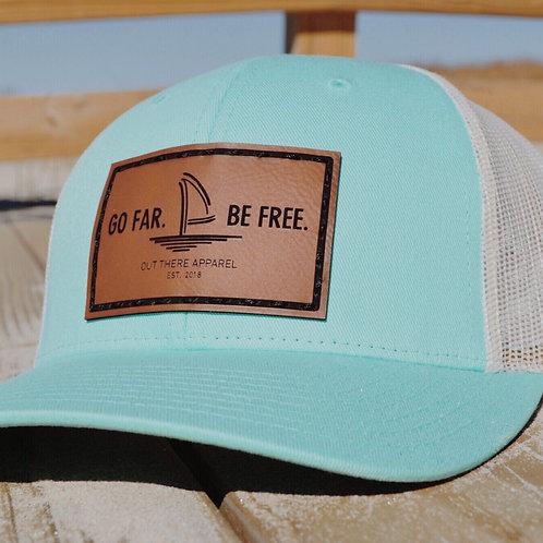 Aqua Trucker Hat