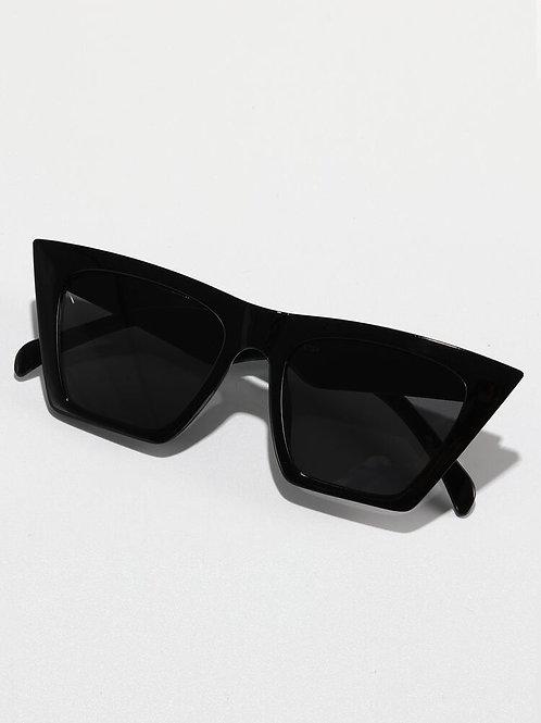 Acrylic Frame Tinted Lens Sunglasses