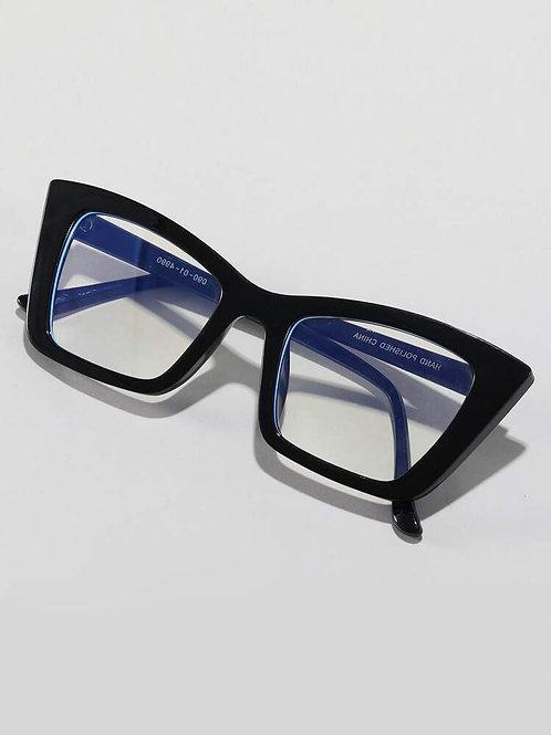 Black Cat Eye Clear Frames