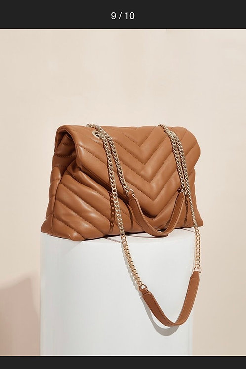 Chevron Flap Bag