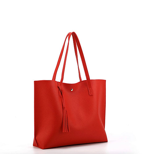 Large Tote HandBag (Red)
