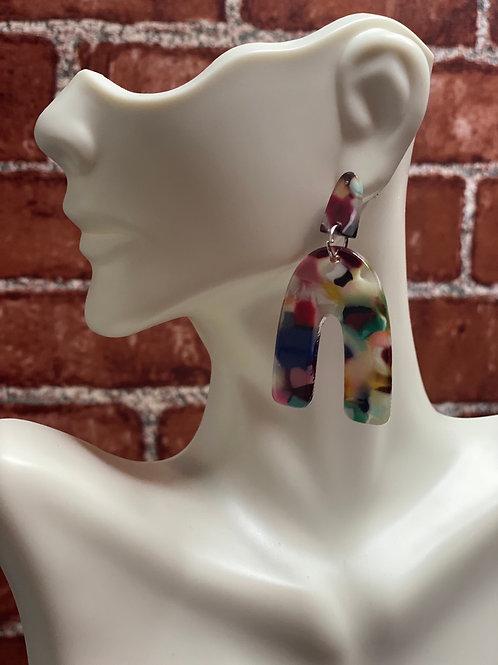 U Design Colorful Drop Earrings