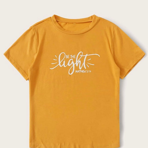 """Be The Light"" T-Shirt"