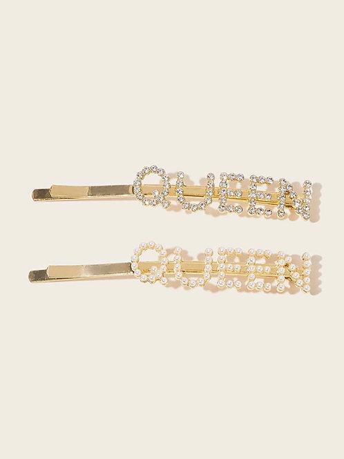 Queen Hairpin 2pcs