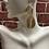 Thumbnail:  Line Twist Drop Earrings