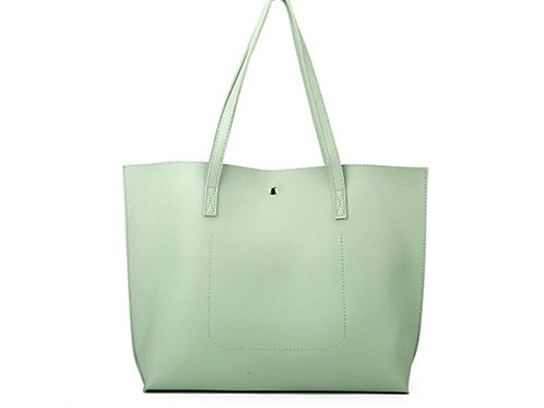 Large Tote HandBag (Mint Green)