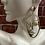 Thumbnail: Abstract Face Drop Earrings