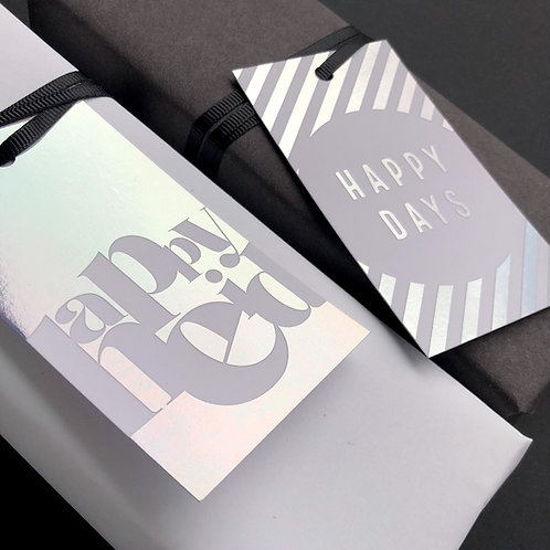 Luxury Foiled Eid Gift Tags | Ombre Magic