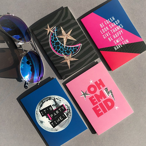 Eid Cards Multipack | Prints & Power