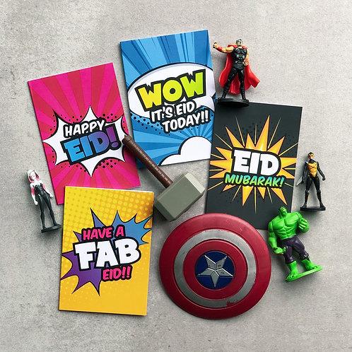 Eid Cards Multipack | Super Muslims