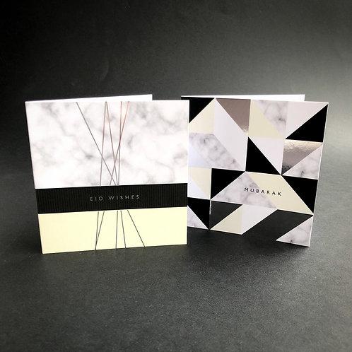 Luxury Foiled Eid Cards Set   Opulent Charm