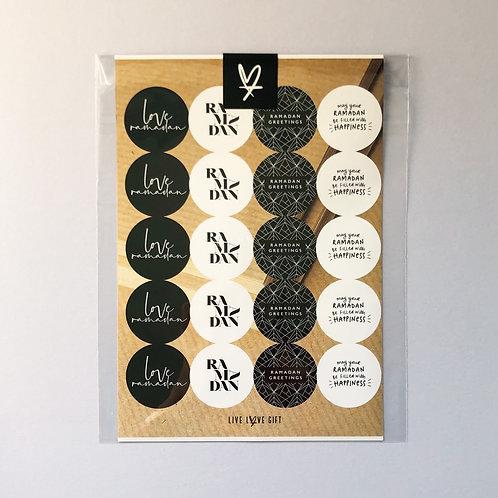 Ramadan Stickers | Monotype Chic