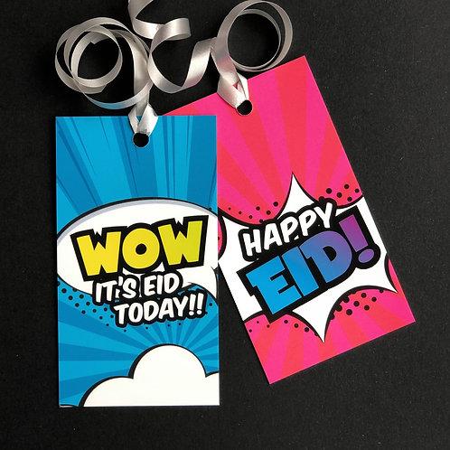 Eid Gift Tags | Super Muslims