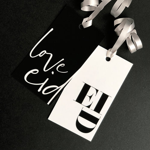 Eid Gift Tags | Monotype Chic