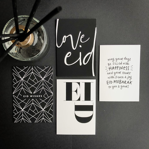 Eid Cards Multipack | Monotype Chic