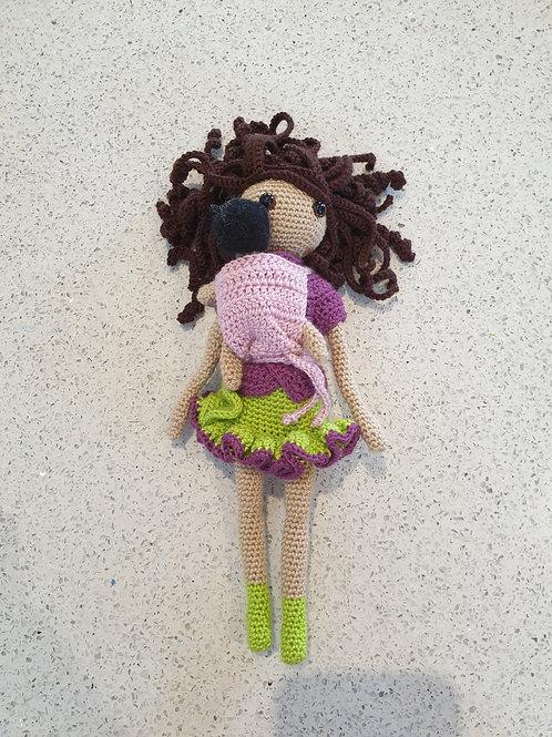 Babywearing Doll - Eloise
