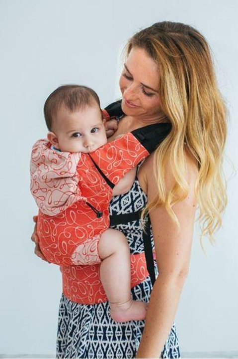 Myra Ruby Wrap Conversion Baby Size Full Buckle Carrier