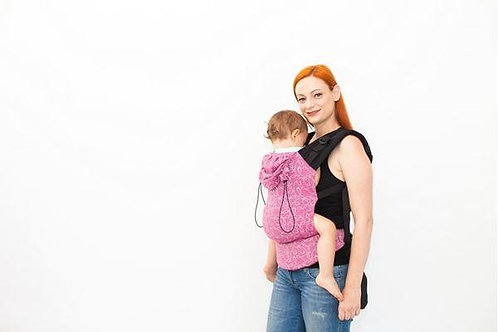 Myra Orchid Wrap Conversion Baby Size Full Buckle Carrier