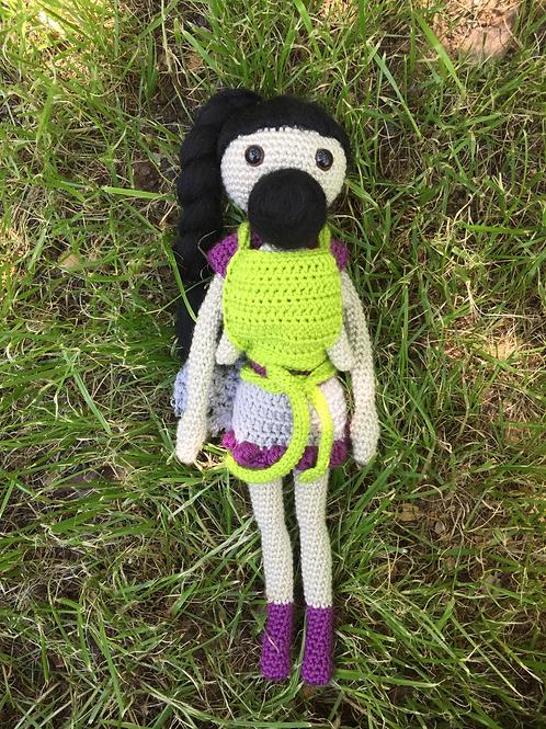 Babywearing Doll - Lila