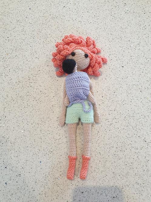 Babywearing Doll - Coral