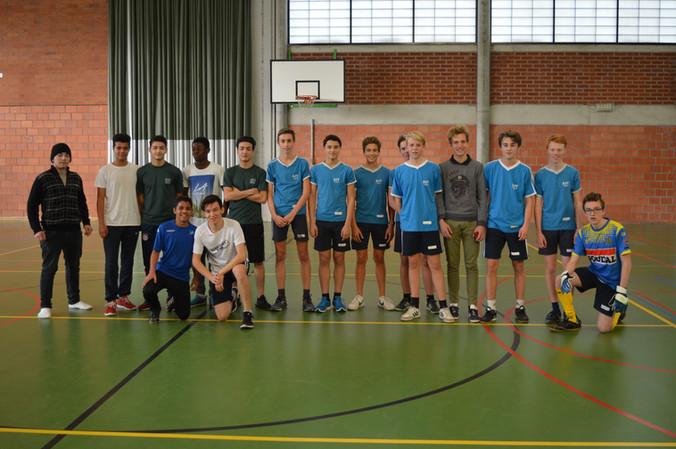Voetbalwedstrijd 4EB-OKAN