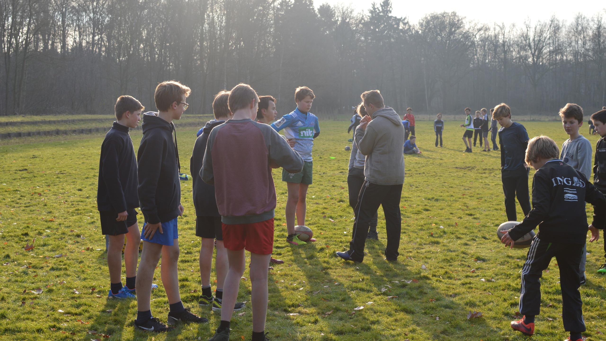 Rugby-initiatie afdeling 1 en 2