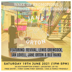 Soundhouse June 2021 Poster