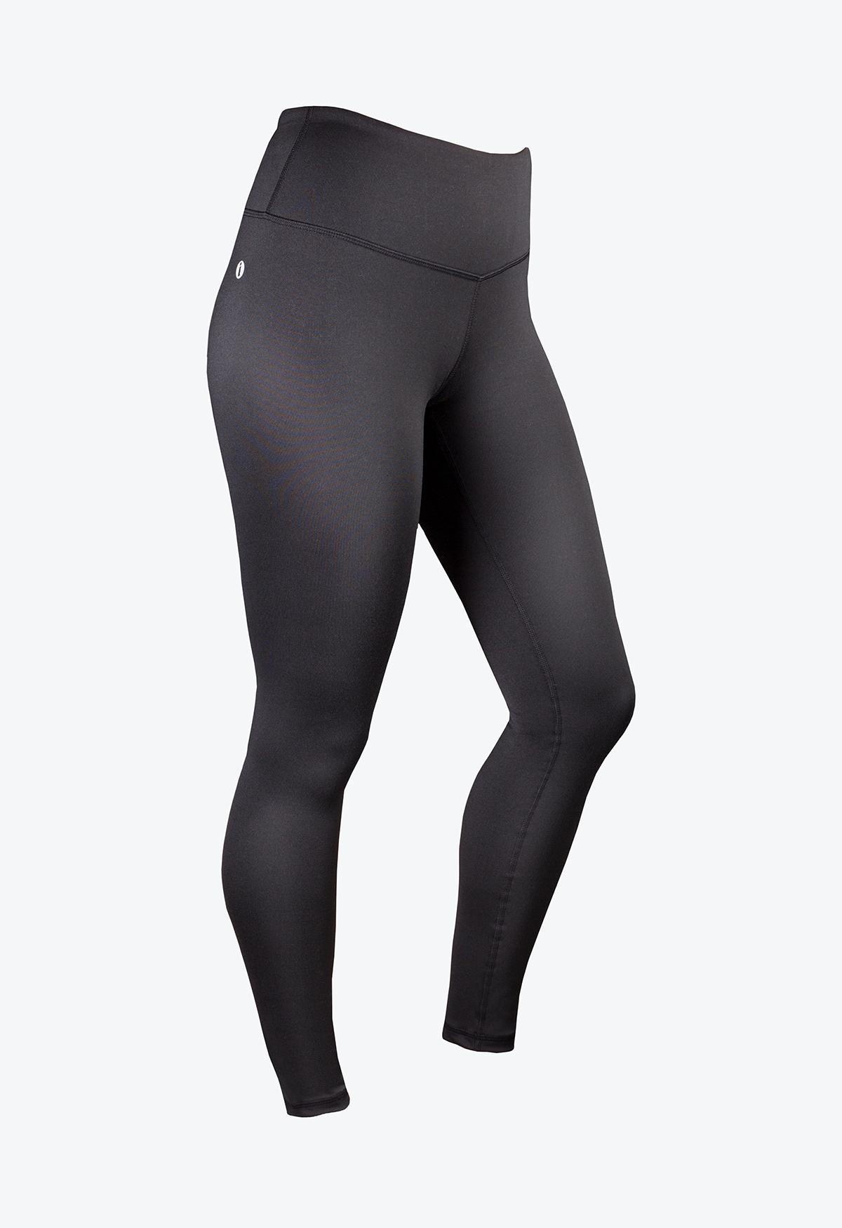 Womens Performance Pants - Black - Left