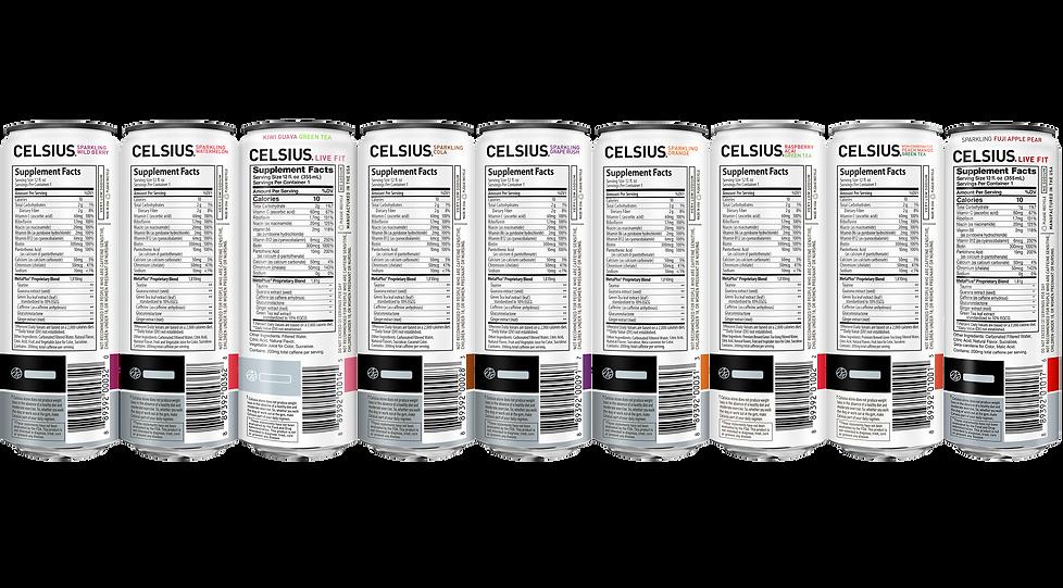 celsius-originals-lineup Nutritional fac