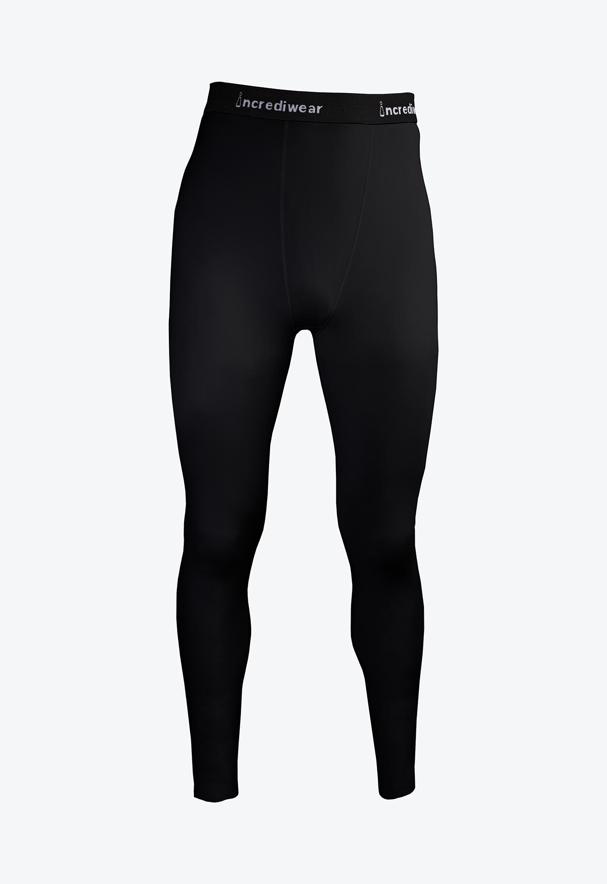 Mens Performance Pants - Black - Front