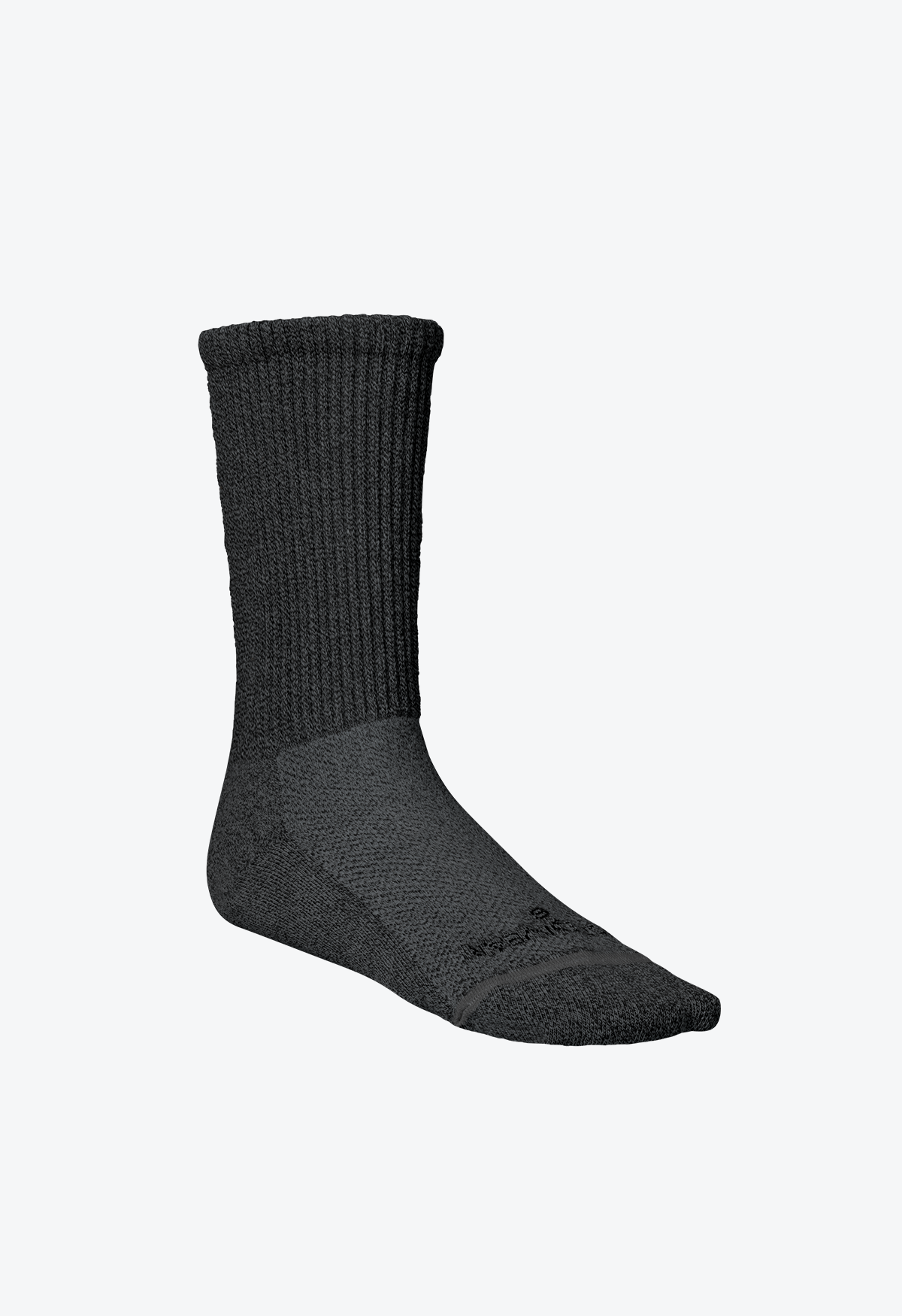 Circulation_Socks_Grey_Ankle_Crew_Left