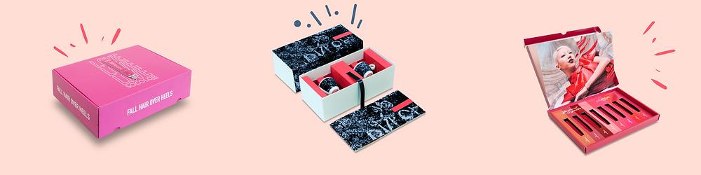 Voorbeeld bedrukte kartonnen verpakkingen