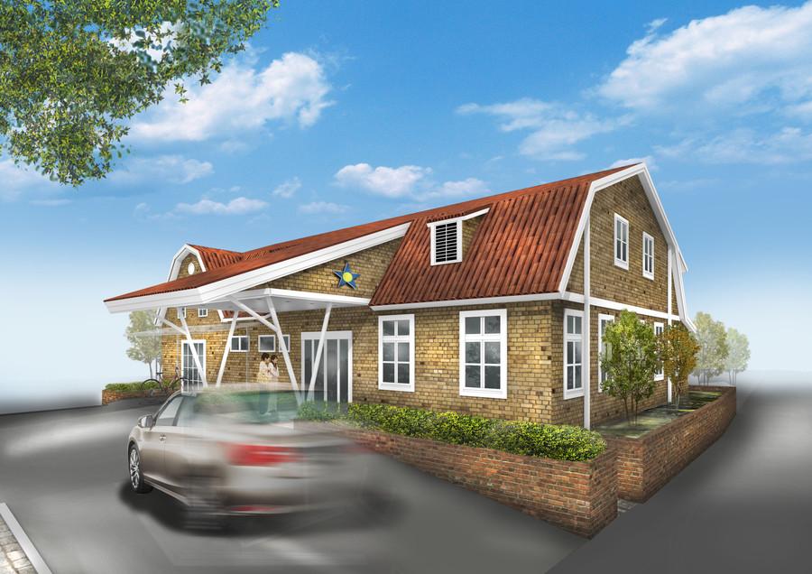 建築の記録  スウェーデンの建築を参考に、北欧風のクリニックを建ててくれと旧知の小澤環境設計さんにお願いしました。  平野建設の方々の苦労の結果、素敵な建物ができました。