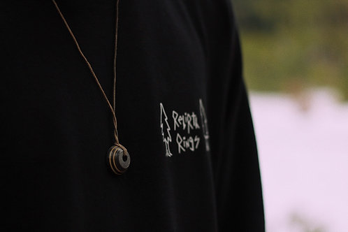 "Skateboard Necklace ""London Amulet"""