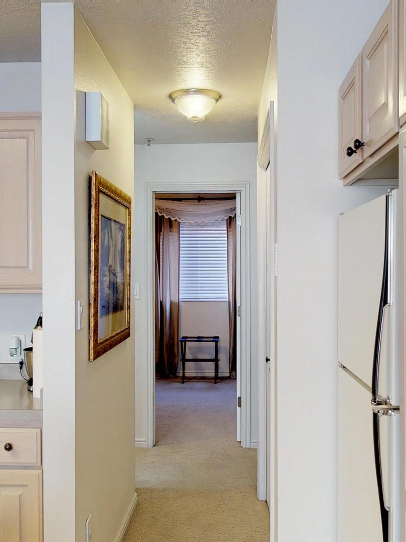 Hallway towards Master Bedroom