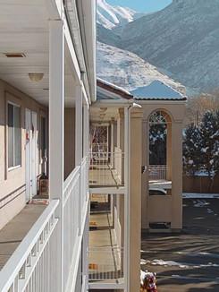 3rd Floor hallway (winter season)