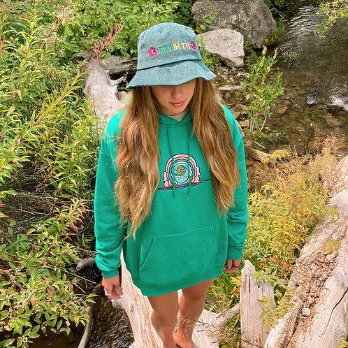 Rebirth-awareness hoodie (kelly)