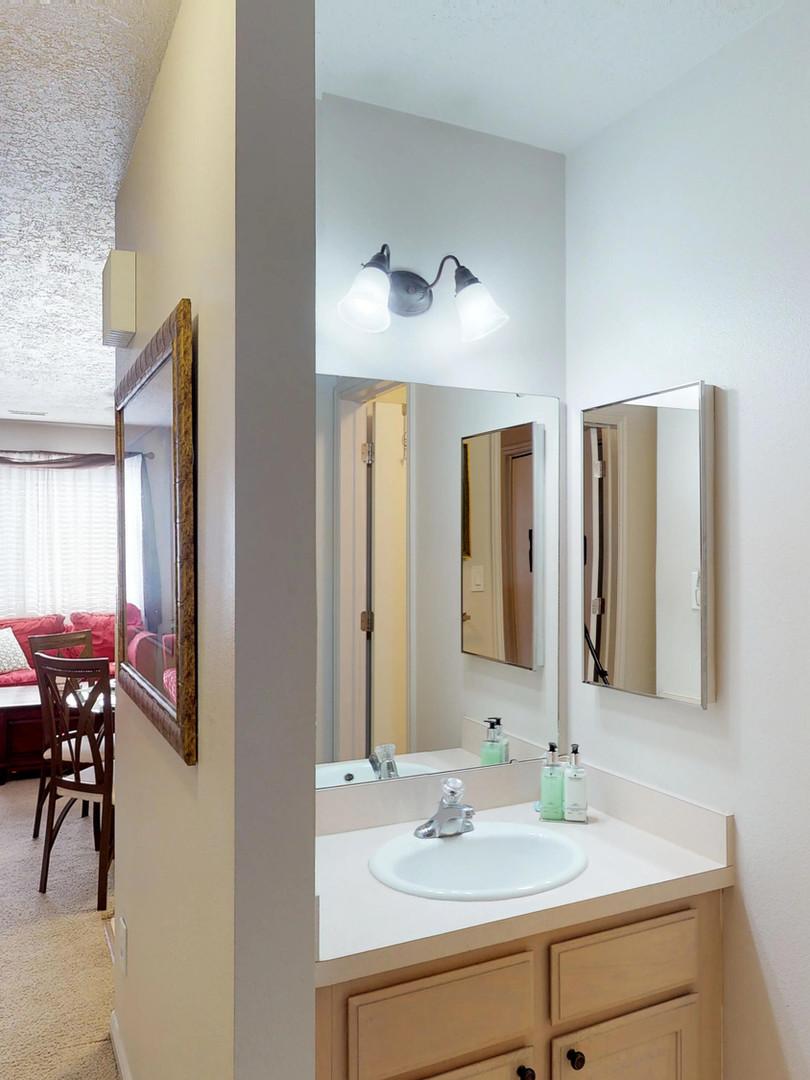 Hallway & Bathroom